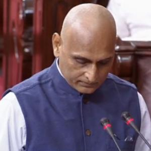 RSS ideologue Rakesh Sinha, Sonal Mansingh take oath in RS