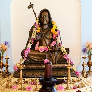 When Adi Shankaracharya met the chandala    - Rediff com