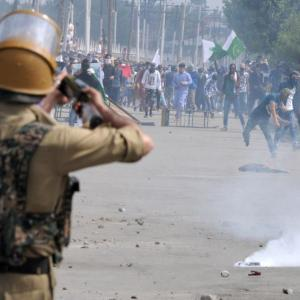 'There is no military solution to Kashmir'