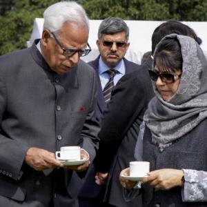 Guv's rule imposed in J-K; ex-top cop made Vohra's adviser