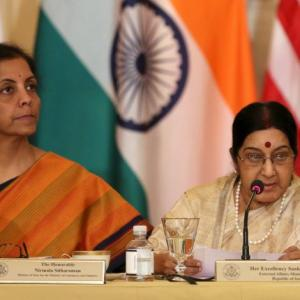 Swaraj, Sitharaman to visit US for 1st 2+2 dialogue on July 6