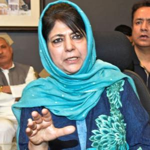 Mehbooba Mufti hits back, says BJP 'disowning' its own narrative