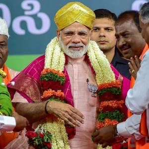 'Whatever happens in Karnataka, Modi is on a slippery downhill road'