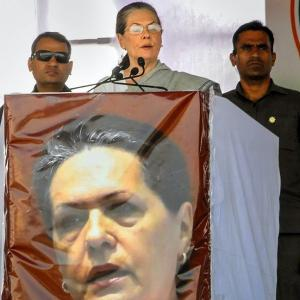 Modi 'possessed by the devil' of Congress mukt Bharat: Sonia