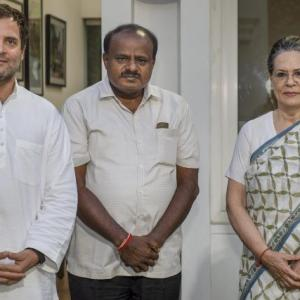 Some issues with Congress over portfolios: Kumaraswamy
