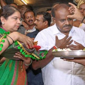 Perceived as kingmaker, Kumaraswamy becomes the king