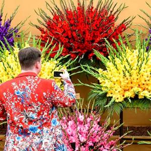 PHOTOS: Inside the most floral, colourful show in the world