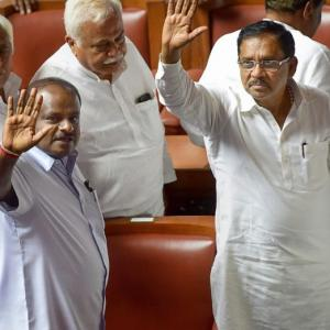 Karnataka drama ends as Kumaraswamy wins trust vote without contest