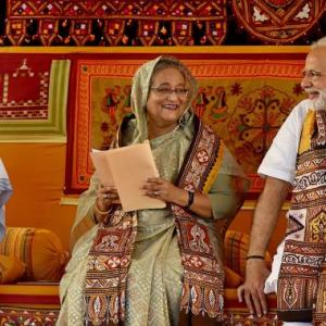 India, Bangladesh bonded by cooperation and understanding: Modi