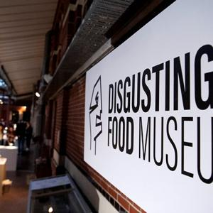 A food museum for rabbit heads and maggot cheese!