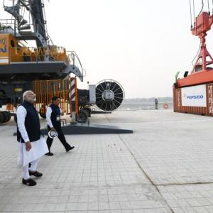 PM inaugurates India's first inland waterways port in Varanasi