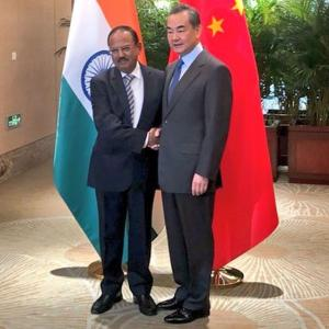 Ajit Doval meets Chinese foreign minister for border talks