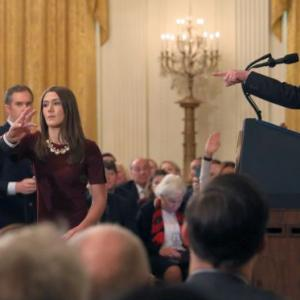 <i>CNN</i> sues Trump, his White House aides over barring of reporter