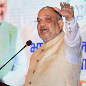 Is Amit Shah anxious about 2019?