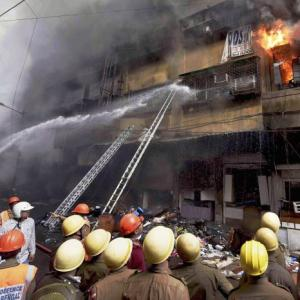 Fire ravages Bagree Market in Kolkata's commercial hub