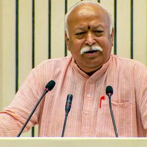 'RSS keeps away from politics but has views on issues of national interest'