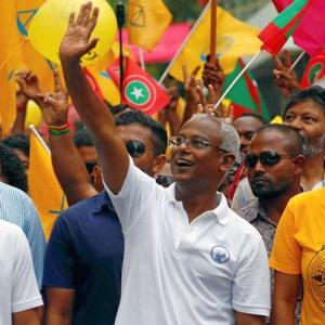 Maldives Opposition's Ibrahim Mohamed Solih wins presidential election
