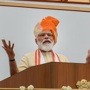 Gave befitting replies to those challenging India: PM