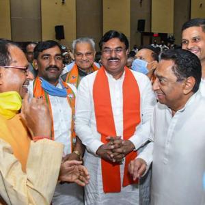'Kamal' replaces Kamal Nath: Shivraj back as MP CM