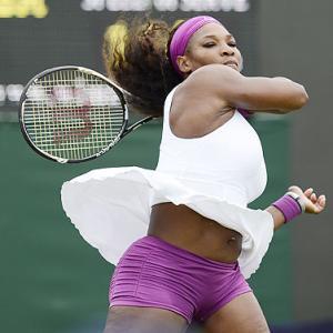Wimbledon: Serena moves safely through first round