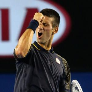 PHOTOS: Djokovic dominates after Azarenka controversy