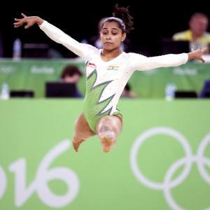 Gymnast Dipa Karmakar has knee surgery, to miss Asian C'ships
