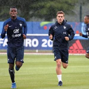 7b4b133d7 Griezmann and Pogba step into massive boots of Platini and Zidane - Rediff  Sports
