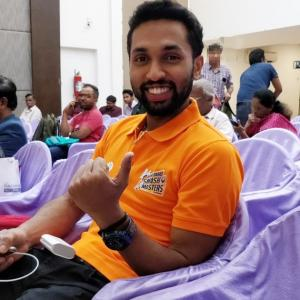 Consistency department: Work in progress for Prannoy