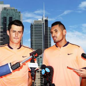 Davis Cup round-up: Kyrgios distances himself from troubled Tomic