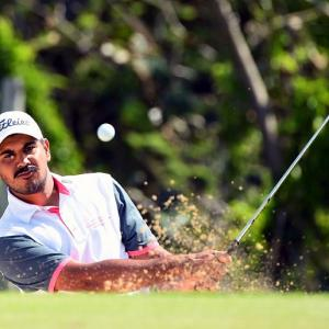 Golf round-up: Bhullar in sole lead in Fiji; Aditi makes cut at British Open
