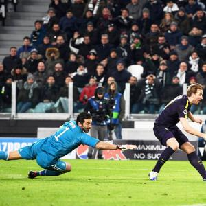 Champions League: Spurs' Kane matches Gerrard in Juve draw