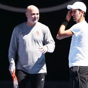 Physically extraordinary Djokovic is battle ready, asserts coach Agassi