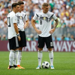 Germany's Kroos slams Ozil for 'speaking nonsense'