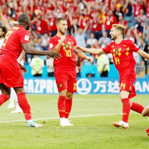 World Cup: Hazard warning fires hungry Lukaku up for glory