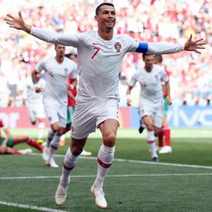 PHOTOS: Ronaldo earns Portugal 1-0 win as Morocco's hopes end