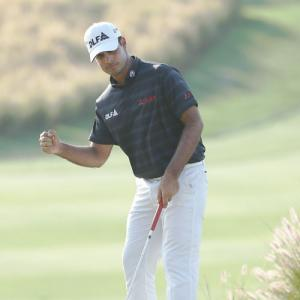 Hero Indian Open: Shubhankar cards 72 to share lead after day 3