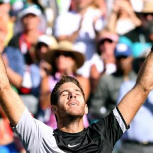Del Potro ends Federer's run to win Indian Wells title