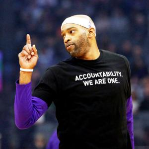 NBA's Kings and Celtics protest police shootings of unarmed black men