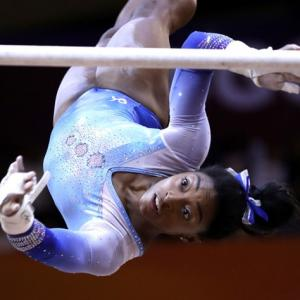 She is the best gymnast we have ever seen!