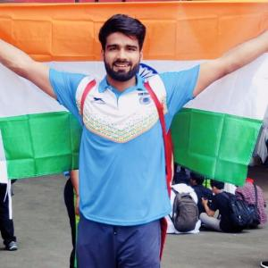 Asian Para Games: 11 medals for India, javelin thrower Sandeep smashes world record