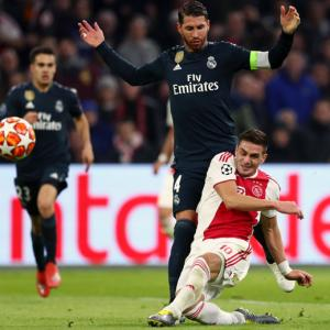 Football Extras: Real's Ramos says he got yellow card on purpose