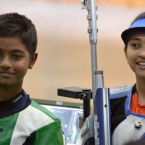 10-year-old shooter is youngest Khelo champion!