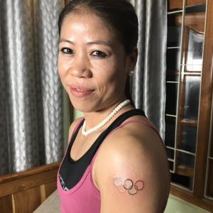 What is Mary Kom up to?