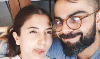 Kohli and Anushka keep spirits up with goofy selfie