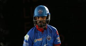 DC's strong middle-order may keep Rahane out of opener