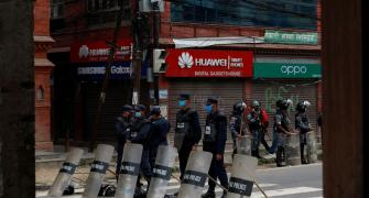 Protests in Nepal against Chinese encroachment