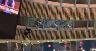 Indian delegate at UNGA walks out amid Imran's address