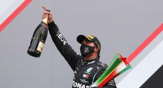 PICS: Hamilton breaks Schumi's F1 record with 92nd win