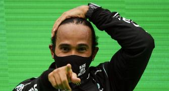 What a time to be alive, says record-breaking Hamilton