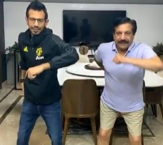 Lockdown dance: Can you shake it like Chahal, Dhawan?